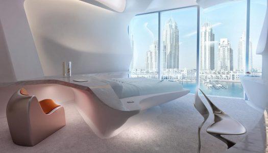Esta podrá ser nuestra habitación en ME Dubai, el hotel más futurista de Meliá