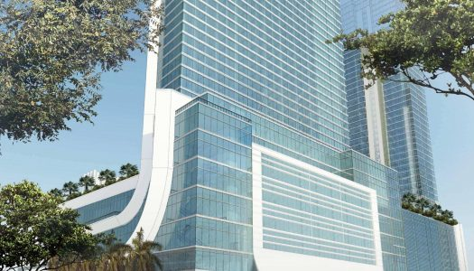 Marriott Marquis Worldcenter Hotel & Expo Center toma forma en Miami