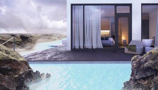 El sorprendente hotel que abre en la Laguna Azul de Islandia