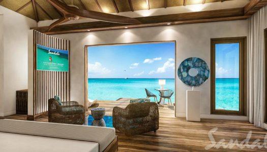 Después del éxito en Jamaica, Sandals trae más bungalows sobre el agua al Caribe
