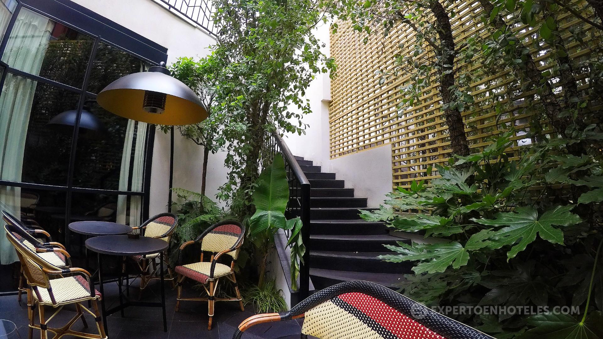 Cr tica le roch hotel spa un hotel boutique brillante for Hoteles diseno paris