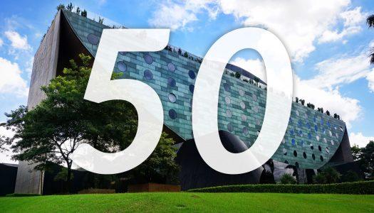 Los 50 mejores hoteles del mundo
