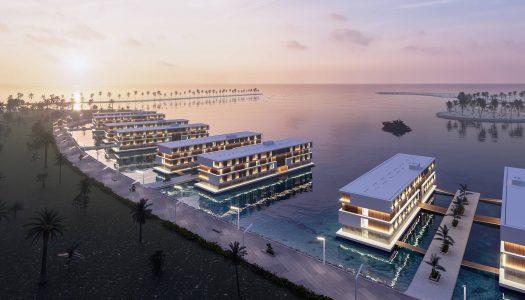 Así serán los hoteles flotantes de Catar para la Copa Mundial de Fútbol 2022