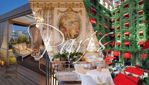 Los 10 hoteles más caros de París. Lujo francés
