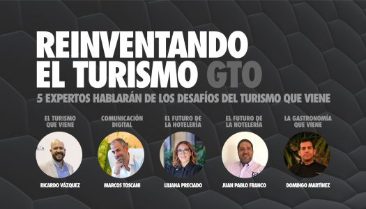 Marcos Toscani participa de panel virtual sobre turismo en Guanajuato, México