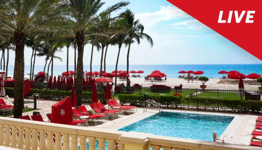Reabre Acqualina Resort & Residences y lo transmite en vivo en Instagram