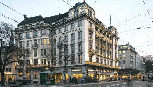 Mandarin Oriental abrirá en Zúrich tomando al clásico Savoy Bauer en Ville